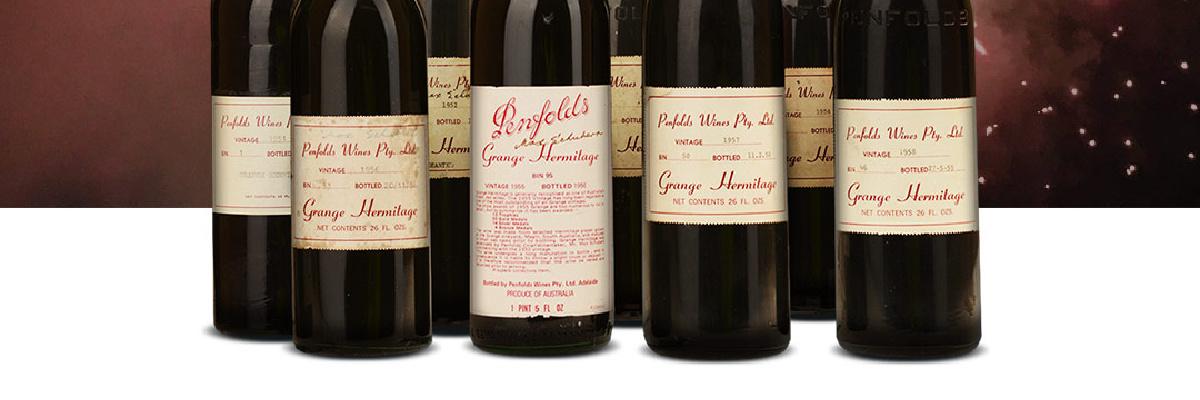 Penfolds Grange auction