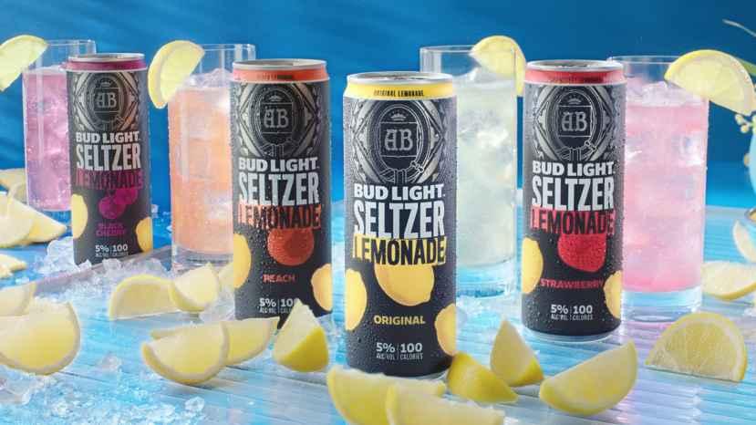 Bud Light hard seltzer lemonade