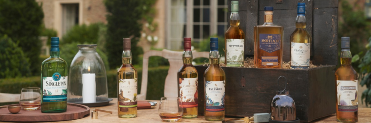 DIAGEO ANNOUNCES THE LIMITED EDITION 2020 SPECIAL RELEASES SCOTCH WHISKY COLLECTION