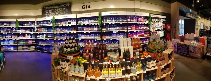 Dan Murphy's gin