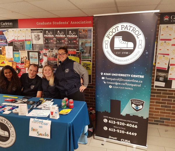 Carleton Foot Patrol Event 2018
