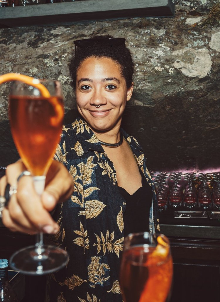Drinks with Desirée Balma (Bartender at TT Liquor)
