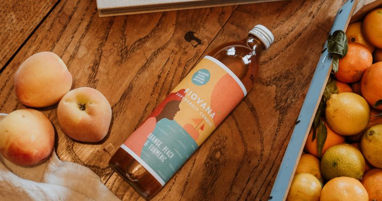 Three ways to enjoy Fiovana Orange, Peach & Tumeric