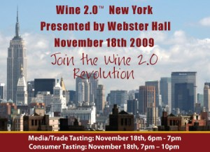 Wine 2.0 New York - Invite