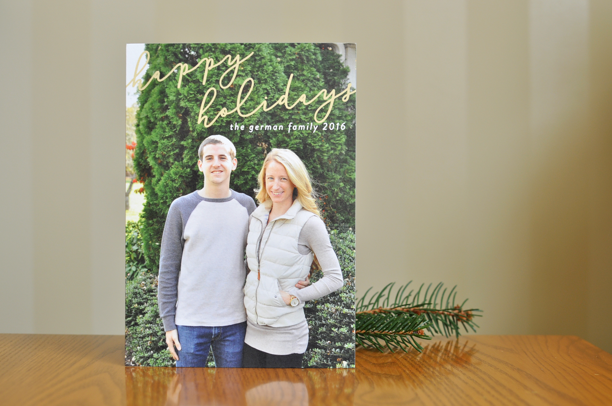 Minted Holiday Cards 2016 | Drink the Day