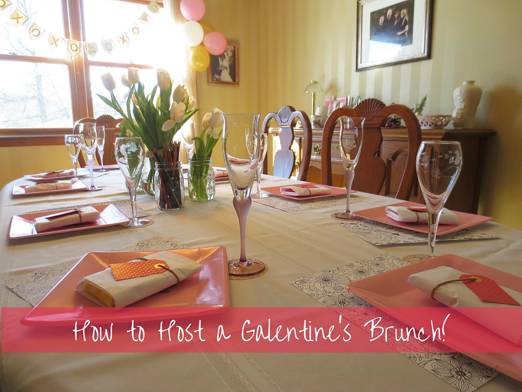 Galentine's Brunch Decor & Inspiration | Drink the Day