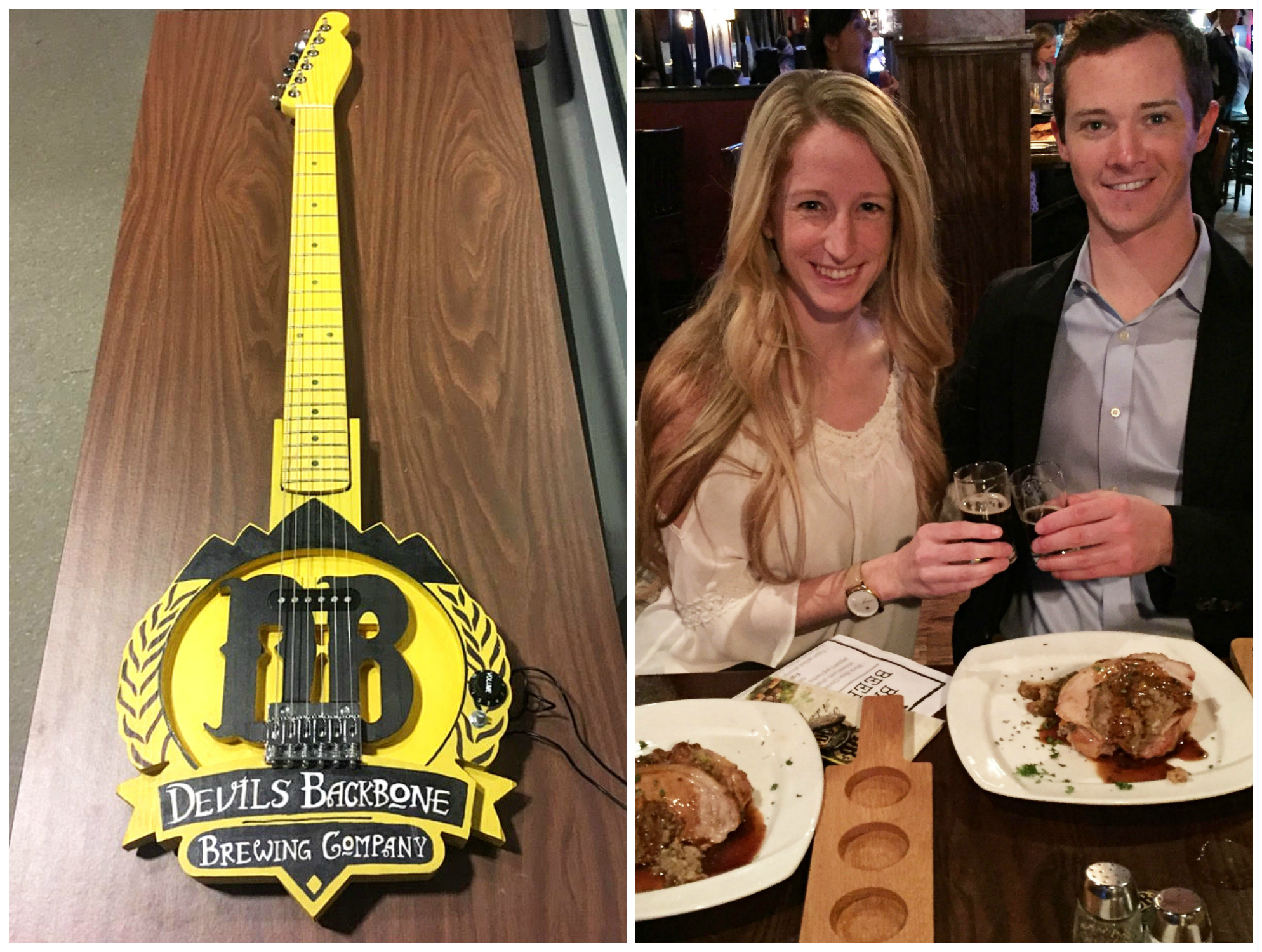 Devils Backbone Brewing Company Dinner | Drink the Day