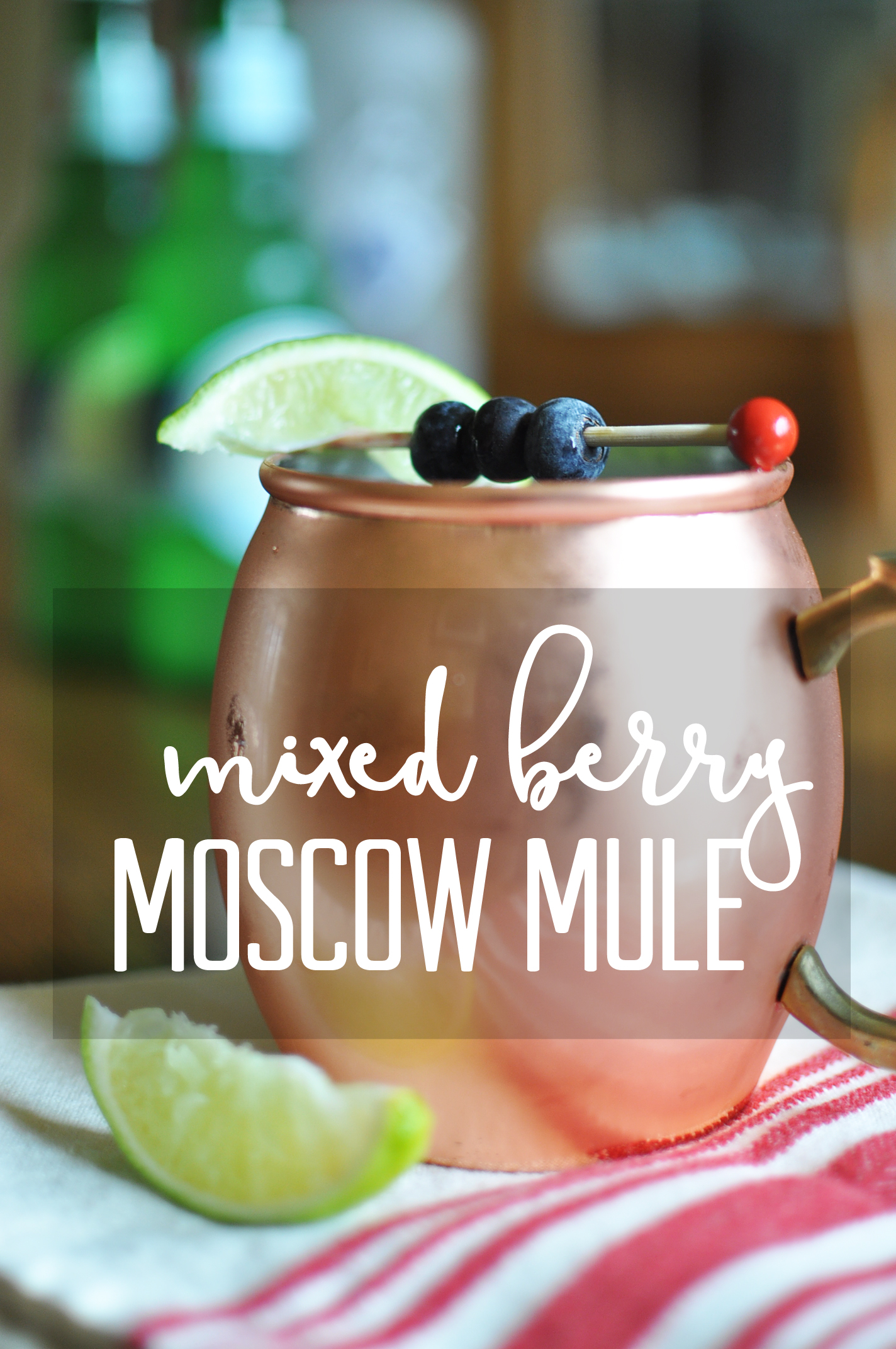Mixed Berry Mule | Drink the Day