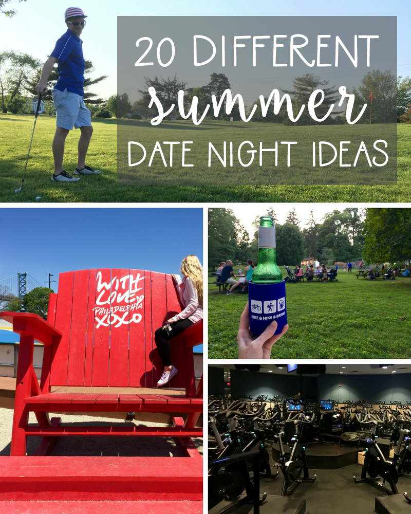 20 Different Summer Date Night Ideas | Drink the Day