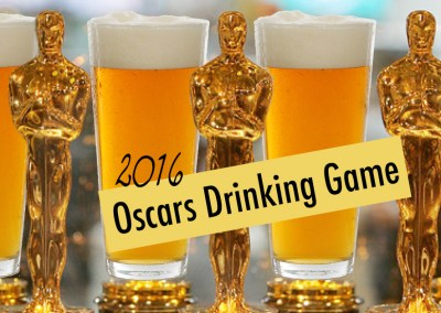 Official 2016 Academy Awards Drinking Game