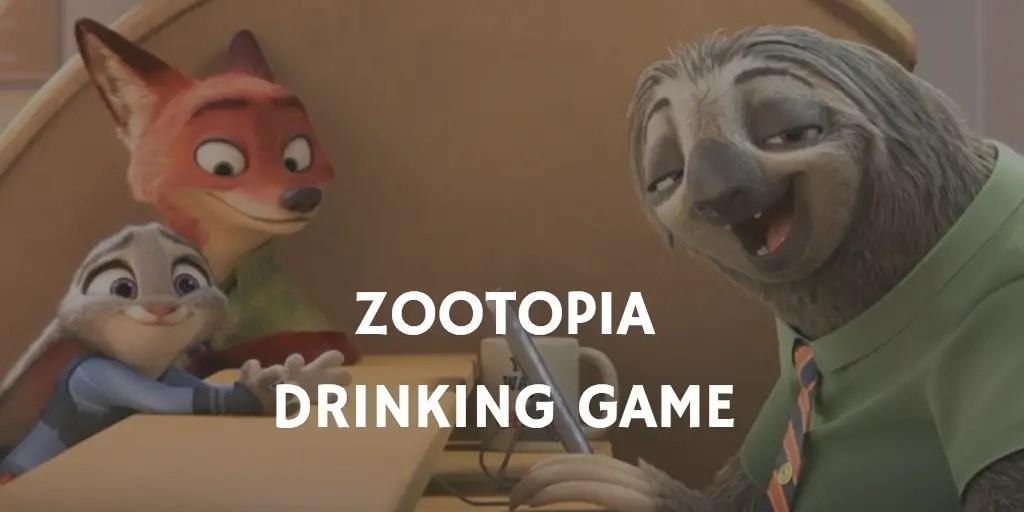 Zootopia Drinking Game
