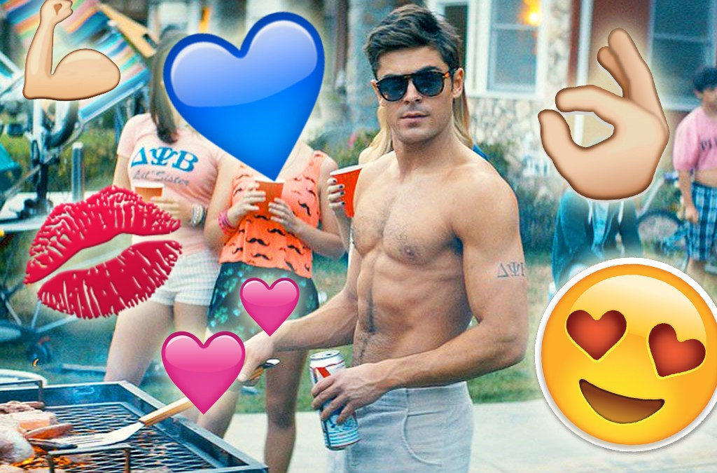 A 6-Pack of Movie Drinking Games Featuring Shirtless Zac Efron
