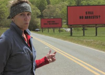 Three Billboards Outside Ebbing, Missouri (2017) Drinking Game