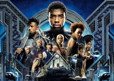 Black Panther (2018) Drinking Game