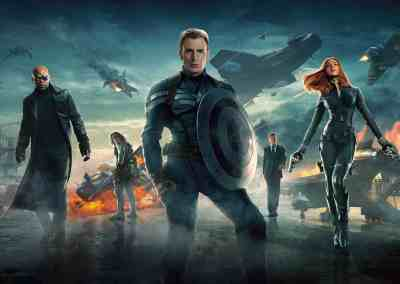 Captain America: The Winter Soldier (2014) Drinking Game