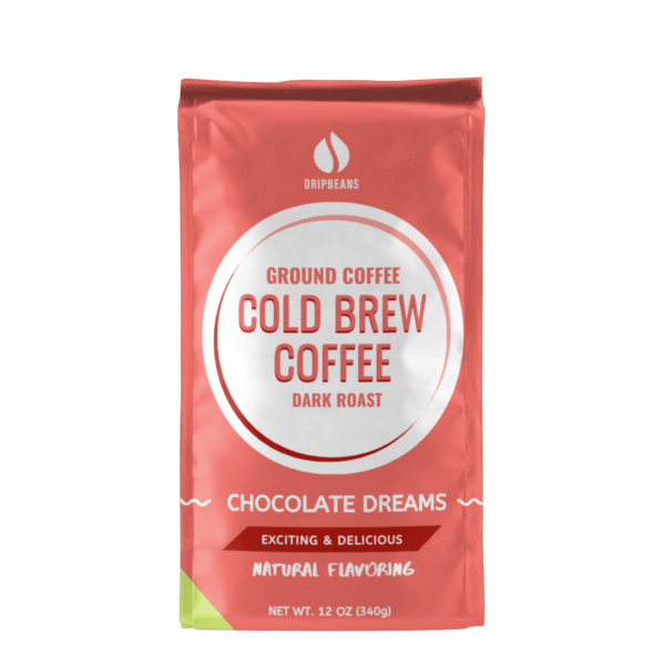 Chocolate Ground Coffee Turned Around