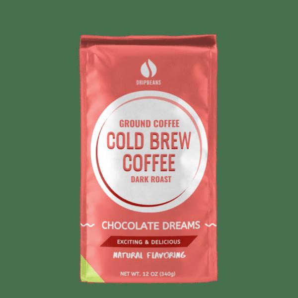 Chocolate Ground Coffee Turned Around