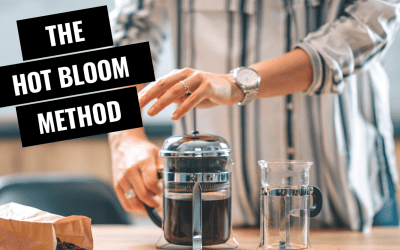 Cold Brew Hot Bloom Method