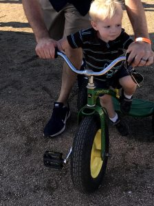 Fall fun for big and little kids at Barton Hills Farm in Bastrop, TX