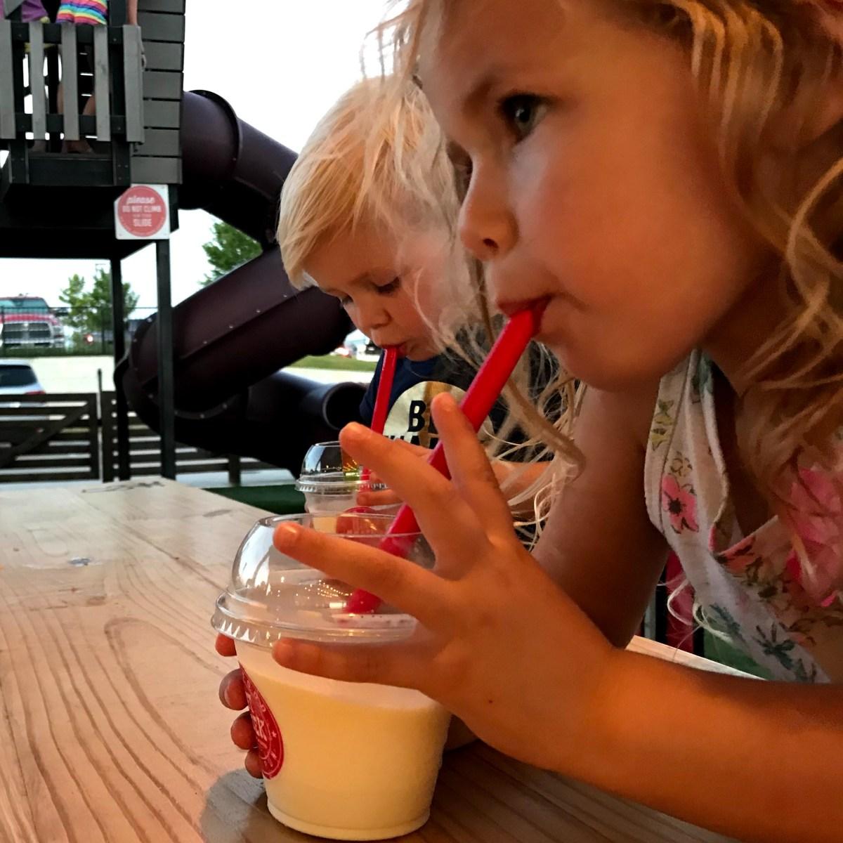 Hat Creek milkshakes!
