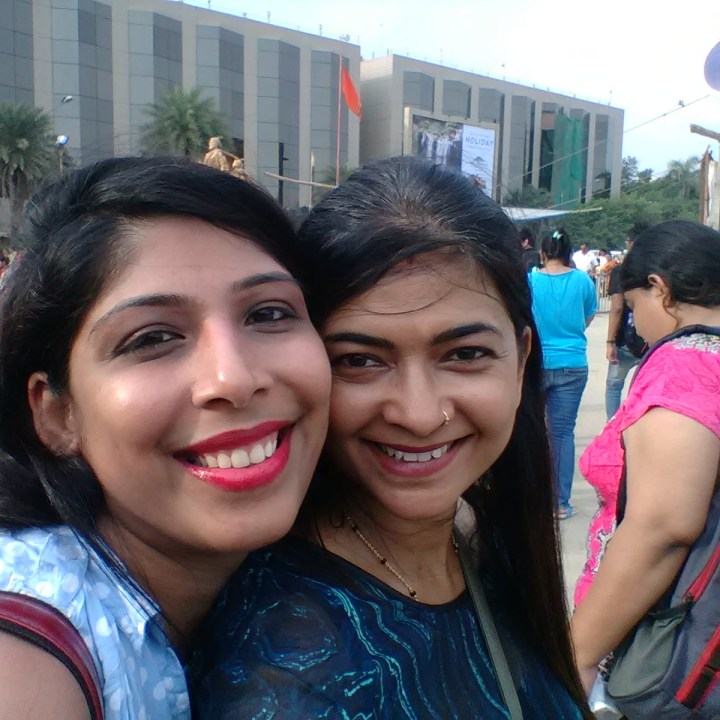 Bestie selfie... with Heena
