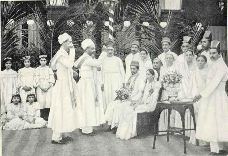 Parsee Wedding in 1905