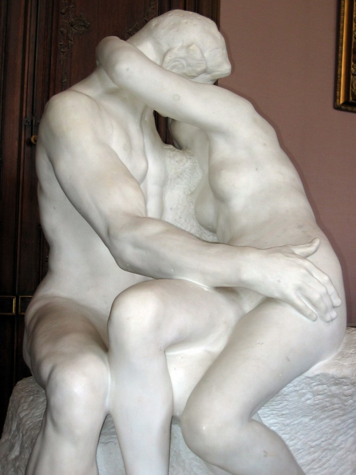 Auguste Rodin, The Kiss (1886, Rodin Museum, Paris)