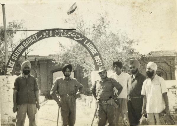 Indian Army in Lahore district - in sight of Lahore city itself
