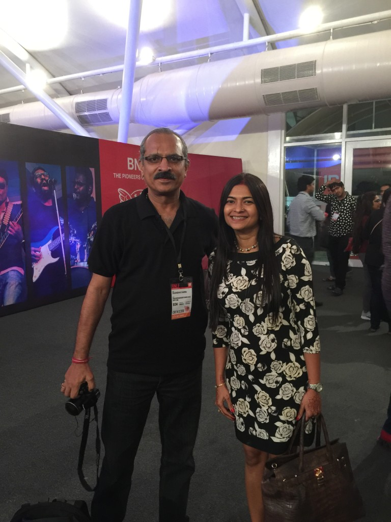 With Shashi.. good luck for your book buddy!!