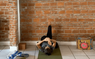 30min Restorative Yin Yoga using the Wall (English)