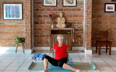 50min Active Therapeutic – opening psoas muscle (English)