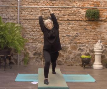 40min Active Beginner Class Focusing on Balance