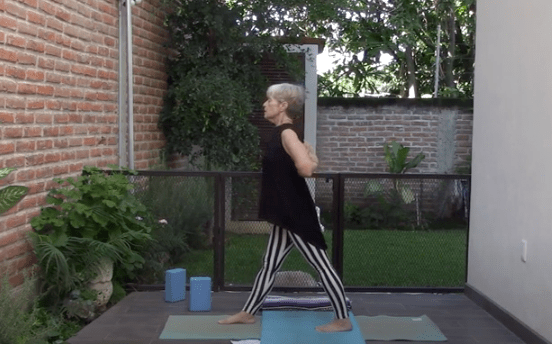 1hr Therapeutic Yoga for people who are sitting a lot