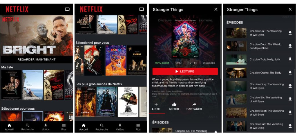 Comment créer une application comme Netflix avec Ionic ?