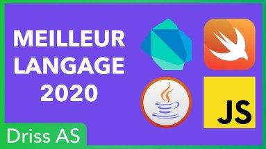Quel langage apprendre en 2020 pour coder des applications mobiles ?