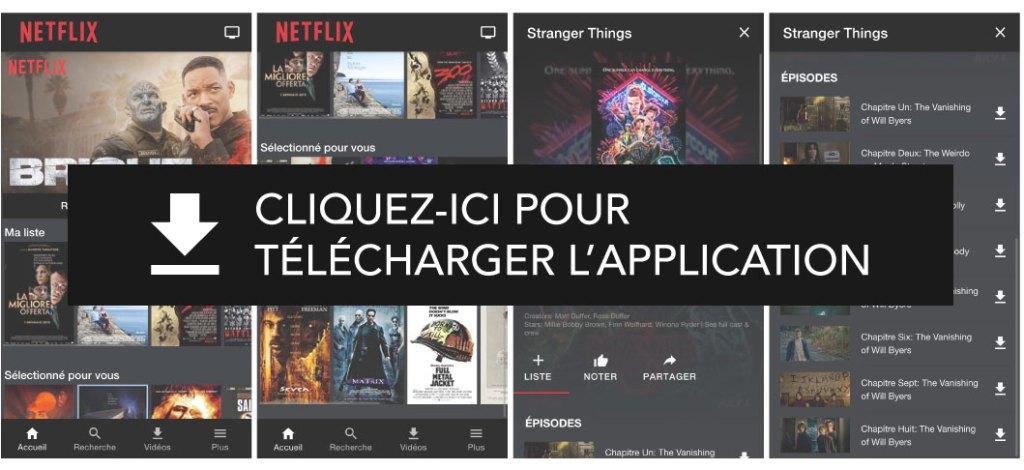 Comment télécharger le code source de l'application Ionic clone Netflix ?