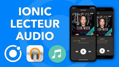 IONIC AUDIO: Comment créer un lecteur audio MP3 avec Ionic (Ionic Media)