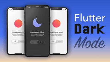 Flutter Dark Mode Tuto