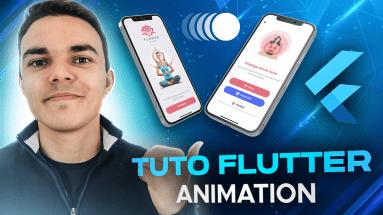 Tuto Flutter Animation: Créer Une Interface de Connexion Dynamique Avec Flutter