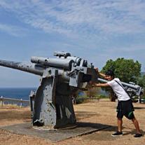 The Anti-aircraft Gun Relics