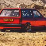 Bagged Volkswagen Polo Mk2 Breadvan Running 200bhp Tuned Supercharged G40 Engine Drive My Blogs Drive