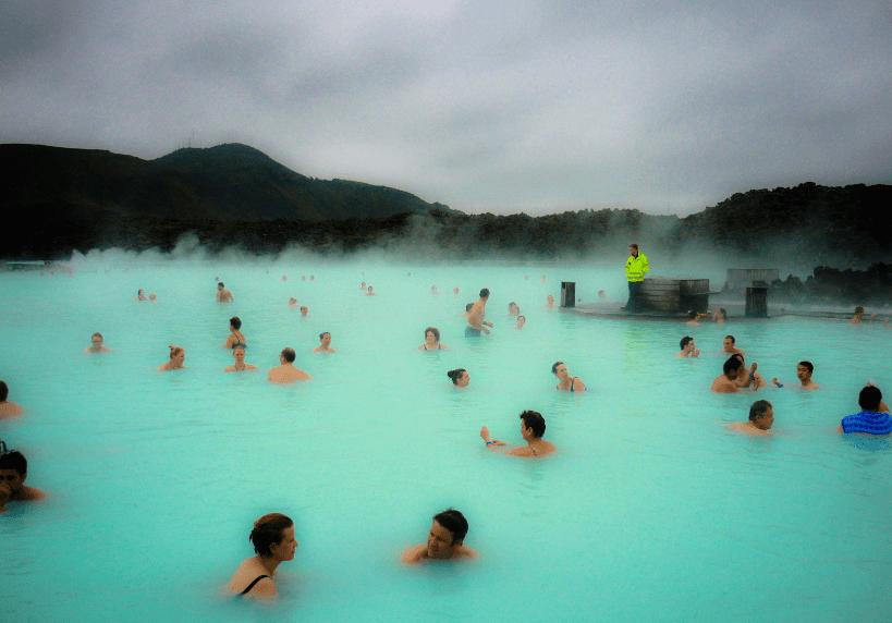 Blue Lagoon, Islanda