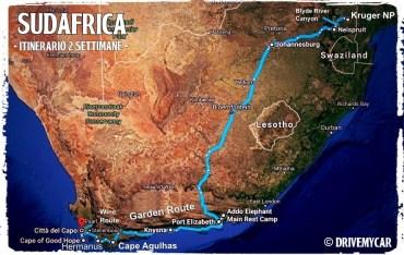 itinerario sudafrica