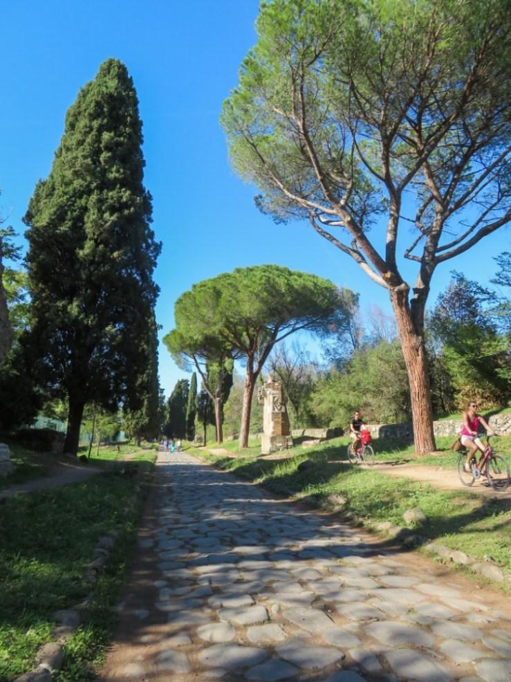 Via Appia in Bici