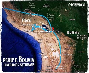 2 settimane Perù e Bolivia