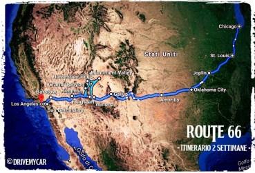 Route 66 due settimane