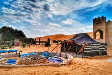 Dormire nel deserto oman