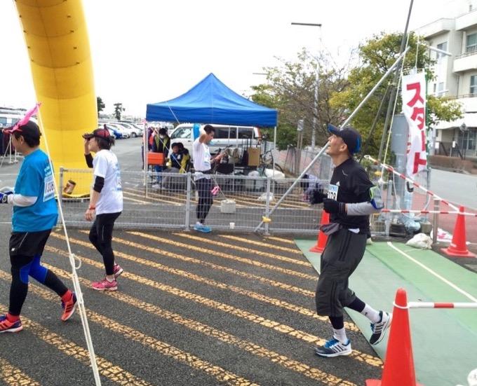 小野寺さんマラソン大会へ参加