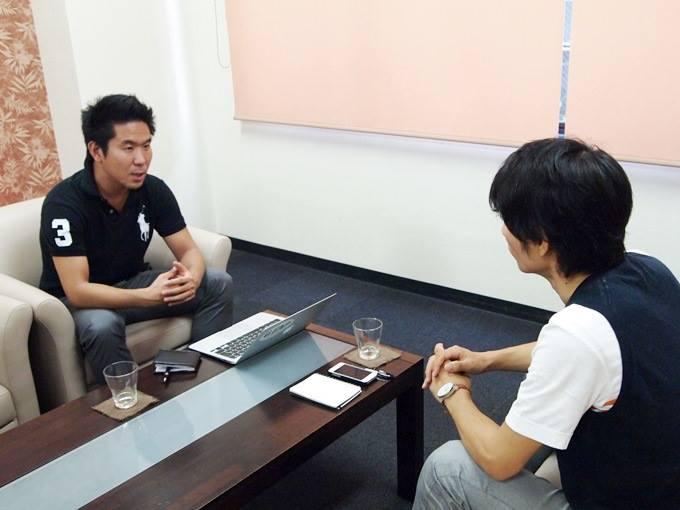 SVP東京代表理事、NPOカタリバ常務理事/事務局長・岡本拓也さんインタビュー風景