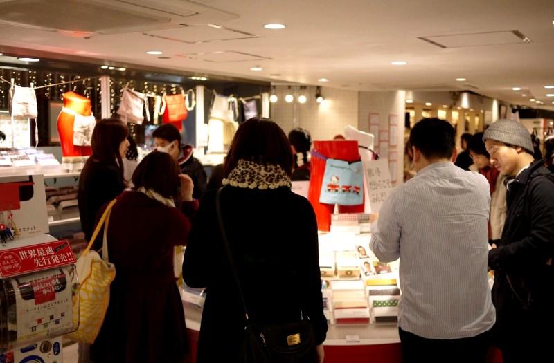 小田急百貨店でのふんどしフェア